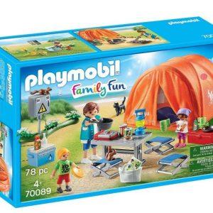 Playmobil® Family Fun - Family Camping Trip (70089)